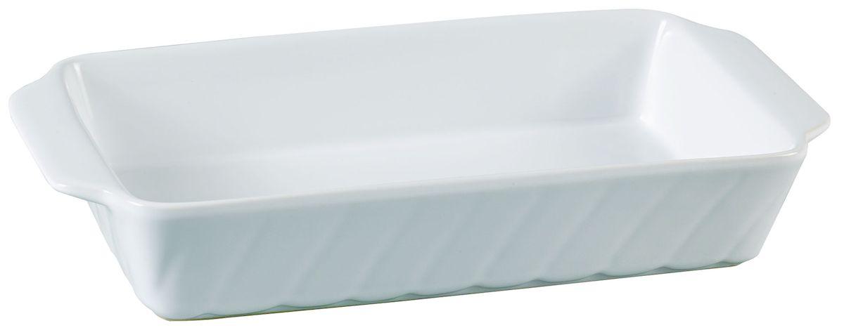 Форма для запекания Axentia, прямоугольная, 30 х 15,5 см124168Прямоугольная форма для запекания Axentia выполнена из керамики с фаянсовым покрытием, что обеспечивает оптимальное распределение тепла. Изделие оснащено удобными ручками. Пригодна для использования в микроволновых печах, морозильных камерах, духовках и для мытья в посудомоечной машине. Размер формы (по верхнему краю): 30 см х 15,5 см. Высота стенки: 6 см.