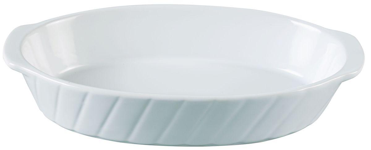 Форма для запекания Axentia, овальная, 24,5 х 14 см124170Овальная форма для запекания Axentia выполнена из керамики с фаянсовым покрытием, что обеспечивает оптимальное распределение тепла. Изделие оснащено удобными ручками. Пригодна для использования в микроволновых печах, морозильных камерах, духовках и для мытья в посудомоечной машине. Размер формы (по верхнему краю): 24 см х 14 см. Высота стенки: 4,5 см.