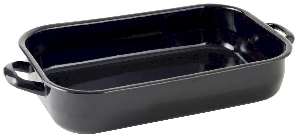 Жаровня Axentia, 36 х 24 см220422Жаровня Axentia изготовлена из стали с эмалированным высокопрочным покрытием. Изделие оптимальной теплопроводности предназначено для жарки и выпечки. Жаровня оснащена удобными ручками. Можно мыть в посудомоечной машине. Высота стенки: 6 см.
