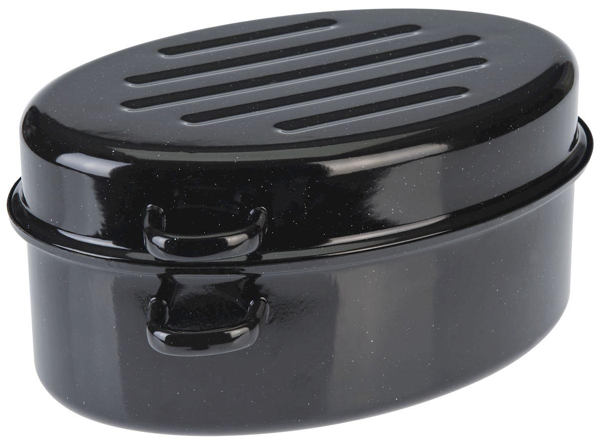 Утятница Axentia с крышкой, с эмалированным покрытием, 4,5 л220431Утятница Axentia, изготовленный из стали, идеально подходит для приготовления вкусных тушеных блюд. Она имеет внутреннее высококачественное твердое эмалевое покрытие. Утятница оснащена двумя удобными ручками и крышкой, которая плотно прилегает к краю, сохраняя аромат блюд. Идеально для нежной жарки, варки и тушения с низком содержанием жира для приготовления гусей, курицы, утки. Изделие оснащено специальным покрытием для легкой очистки. Подходит для всех типов плит, включая индукционные. Можно использовать в духовом шкафу. Можно мыть в посудомоечной машине.