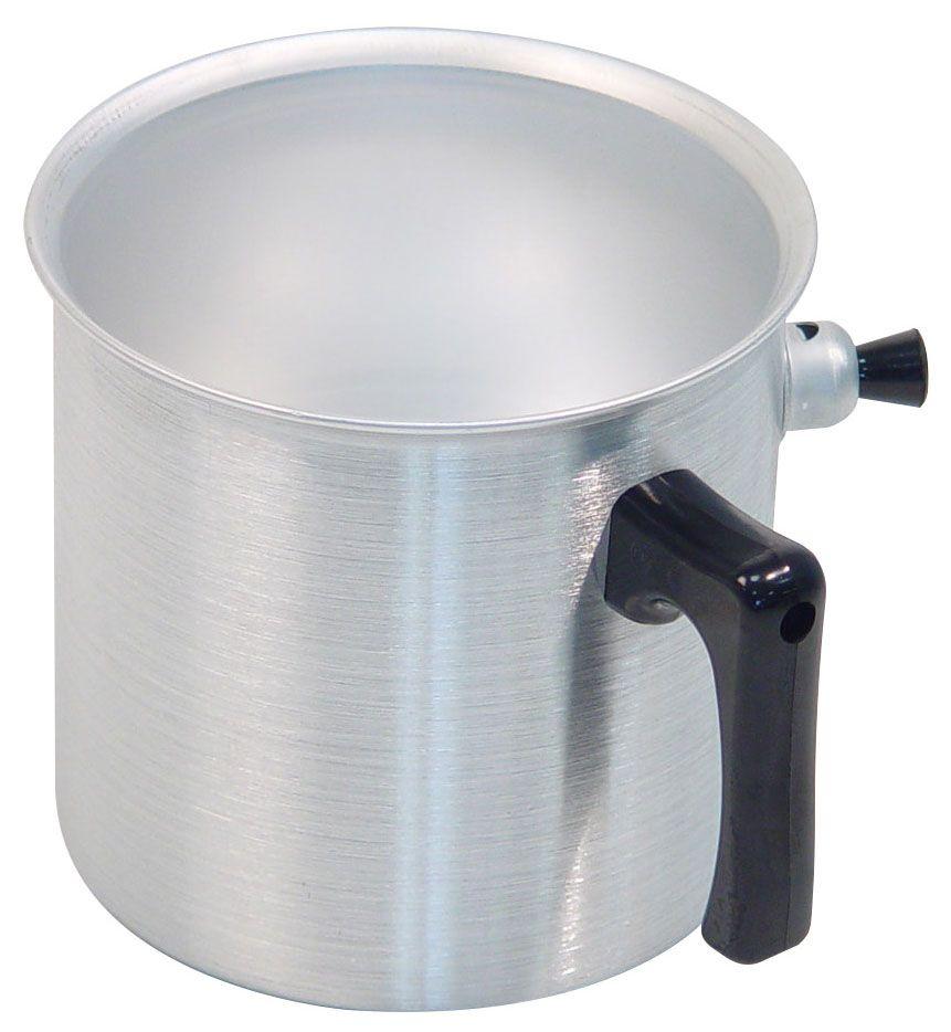 Ковш Axentia, 1 л220550Ковш Axentia, выполненный из полированного алюминия, предназначен для приготовления блюд на медленном огне без пригорания. Идеален для приготовления молочных продуктов, детского питания и диетических блюд. Ручка ковша выполнена из термопластика. Подходит для всех типов плит и варочных панелей, в том числе индукционных. Можно мыть в посудомоечной машине.