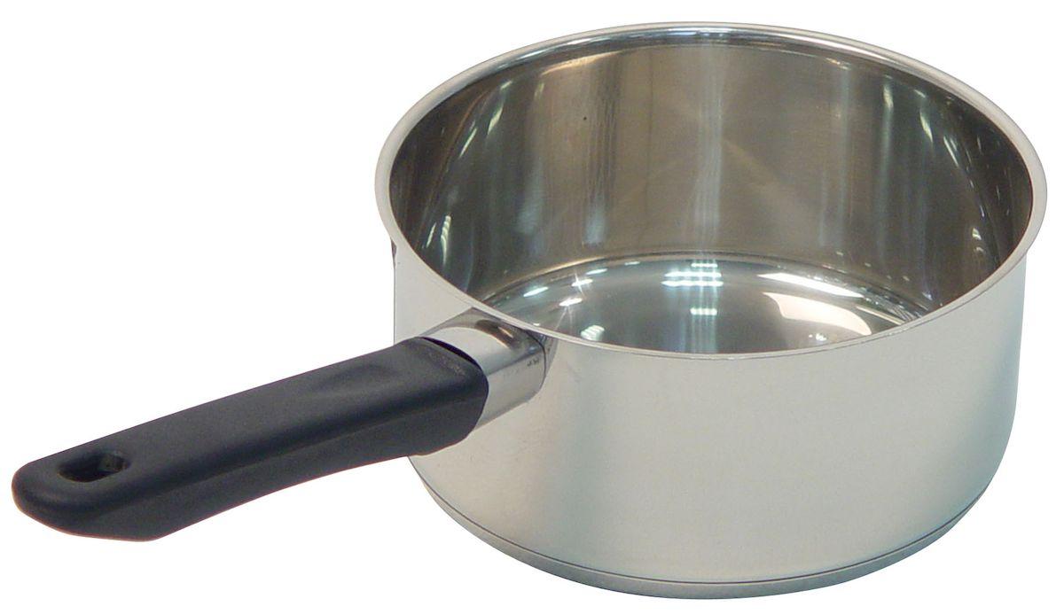 Ковш Axentia Alsass, 1,3 л221012Ковш Axentia Alsass выполнен из двухкомпонентной стали, алюминия и нержавеющей стали. Ковш оснащен удобной ненагревающейся ручкой из термопластика. Подходит для всех типов плит и варочных панелей, в том числе индукционных. Можно мыть в посудомоечной машине. Диаметр ковша (по верхнему краю): 16 см.