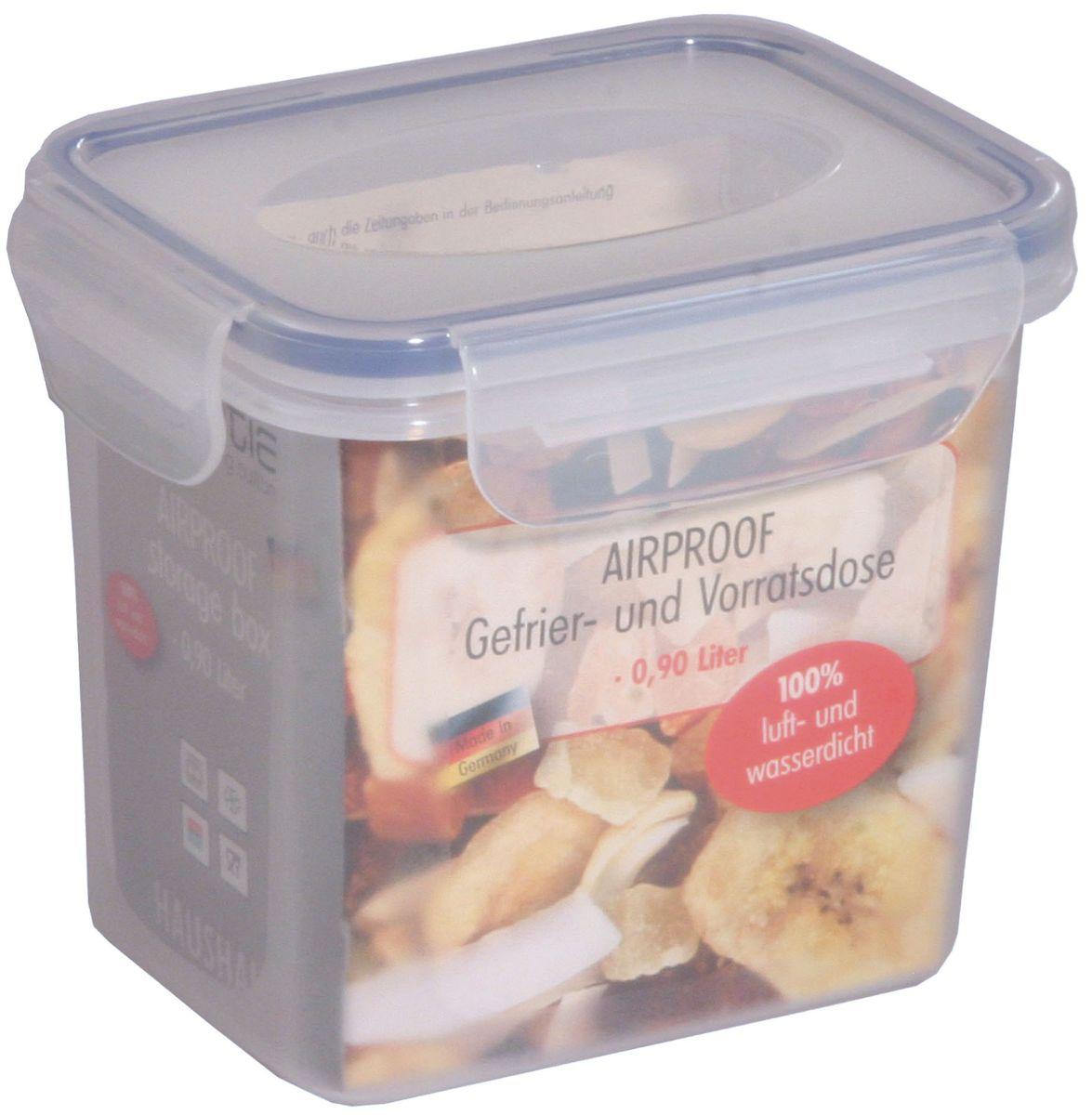 Контейнер Axentia, 900 мл230702Пищевой контейнер Axentia изготовлен из высококачественного пластика. Герметичная крышка с уплотнителем надежно закрывается на защелки, и продукты дольше остаются свежими. Подходит для мытья в посудомоечной машине, хранения в холодильных и морозильных камерах, использования в СВЧ-печах. Выдерживает резкий перепад температур.