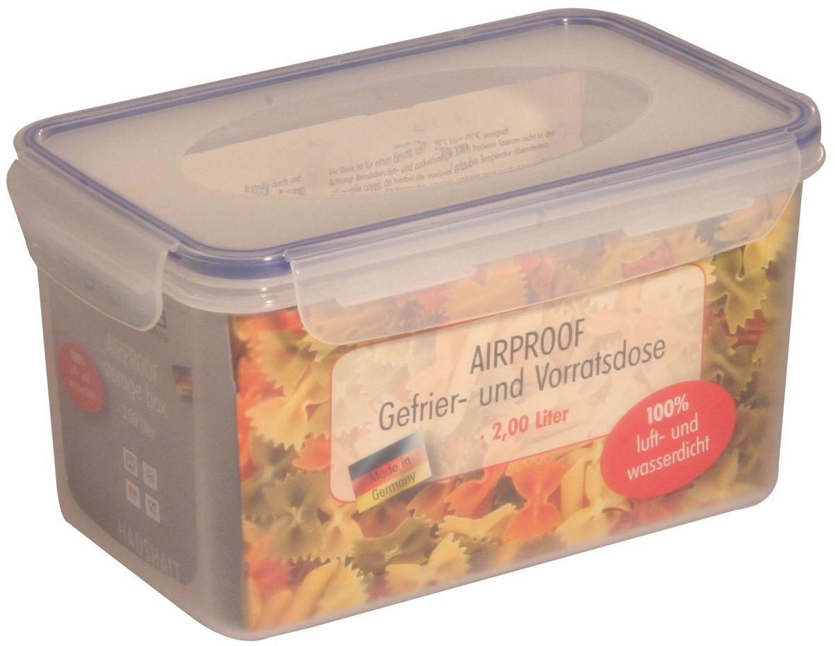 Контейнер Axentia, 2 л230706Пищевой контейнер Axentia изготовлен из высококачественного пластика. Герметичная крышка с уплотнителем надежно закрывается на защелки, и продукты дольше остаются свежими. Подходит для мытья в посудомоечной машине, хранения в холодильных и морозильных камерах, использования в СВЧ-печах. Выдерживает резкий перепад температур.