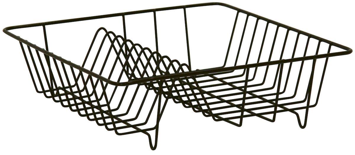 Сушилка Axentia для посуды, цвет: коричневый, 34 х 34 х 11 см250011Сушилка для посуды Axentia выполнена из металла с порошковым покрытием. Изделие оснащено отделением для тарелок и стаканов. Сушилку можно установить на крыло мойки, стол или в кухонный шкаф. Очень практичная и функциональная сушилка не займет много места на кухне и стильно оформит интерьер.