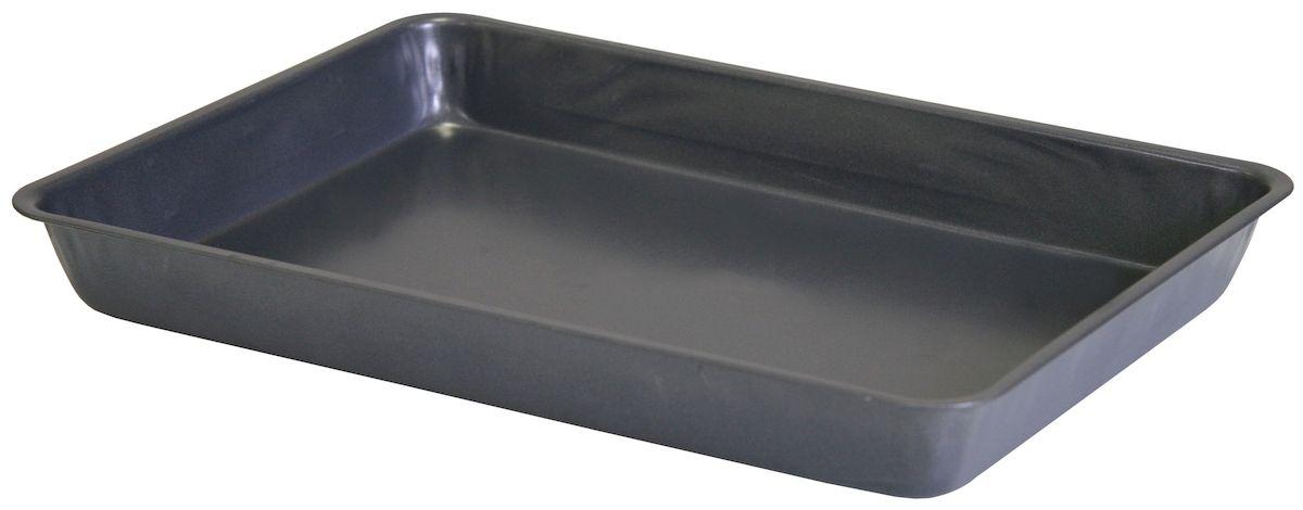 Противень-жаровня Top Star, с антипригарным покрытием, 37,5 х 26 см253805Жаровня-противень Top Star изготовлена из стали с антипригарным покрытием. Изделие оптимальной теплопроводности предназначено для запекания и выпечки. Можно мыть в посудомоечной машине. Высота стенки: 5,5 см.