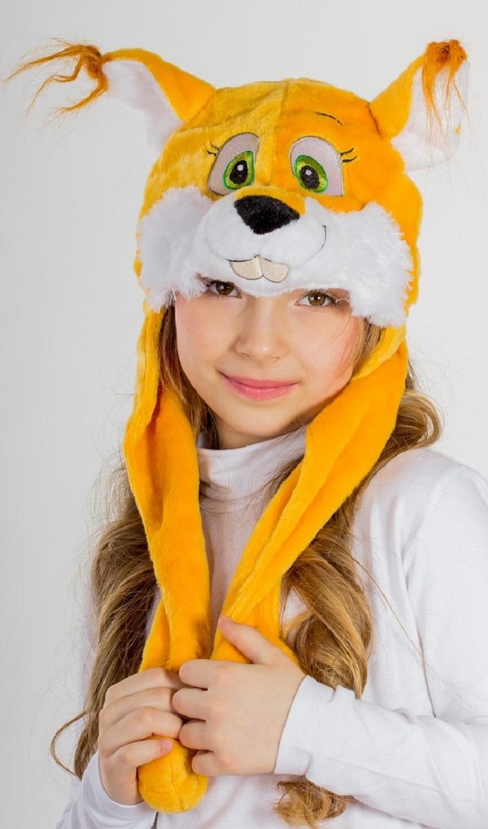 Карнавалия Карнавальная шляпа Белочка размер 54 9000190001Карнавальная шляпа Карнавалия Белочка выполнена из мягкого бархатистого полиэстера. Изделие представляет собой шапку в виде головы белочки с длинными лапами. Такая карнавальная шляпа великолепно дополнит образ вашего персонажа, подчеркнет его характер и сформирует облик в целом. Если у вас намечается веселая вечеринка или маскарад, то такая шляпа легко поможет создать праздничный наряд. Внесите нотку задора и веселья в ваш праздник. Веселое настроение и масса положительных эмоций вам будут обеспечены!