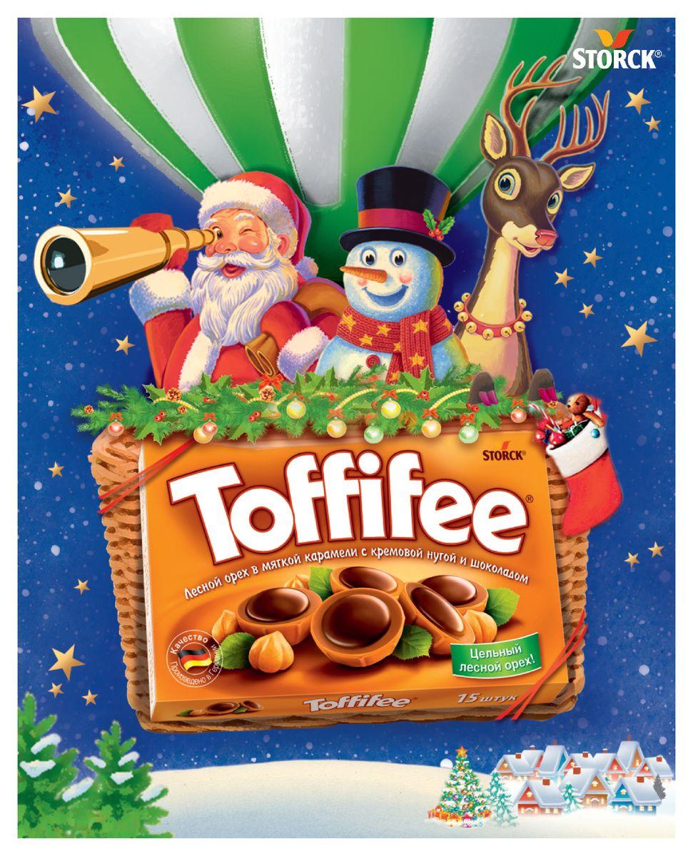 Toffife Воздушный шар конфеты орешки в карамели, 250 г4014400923162Секрет конфет Toffifee в интересном сочетании вкуснейших ингредиентов: отборный цельный лесной орех в чашечке из мягкой карамели, наполненной нежной кремовой нугой и покрытой восхитительным шоколадом! Toffifee – это невероятно вкусные конфеты, которые понравятся и взрослым, и детям!