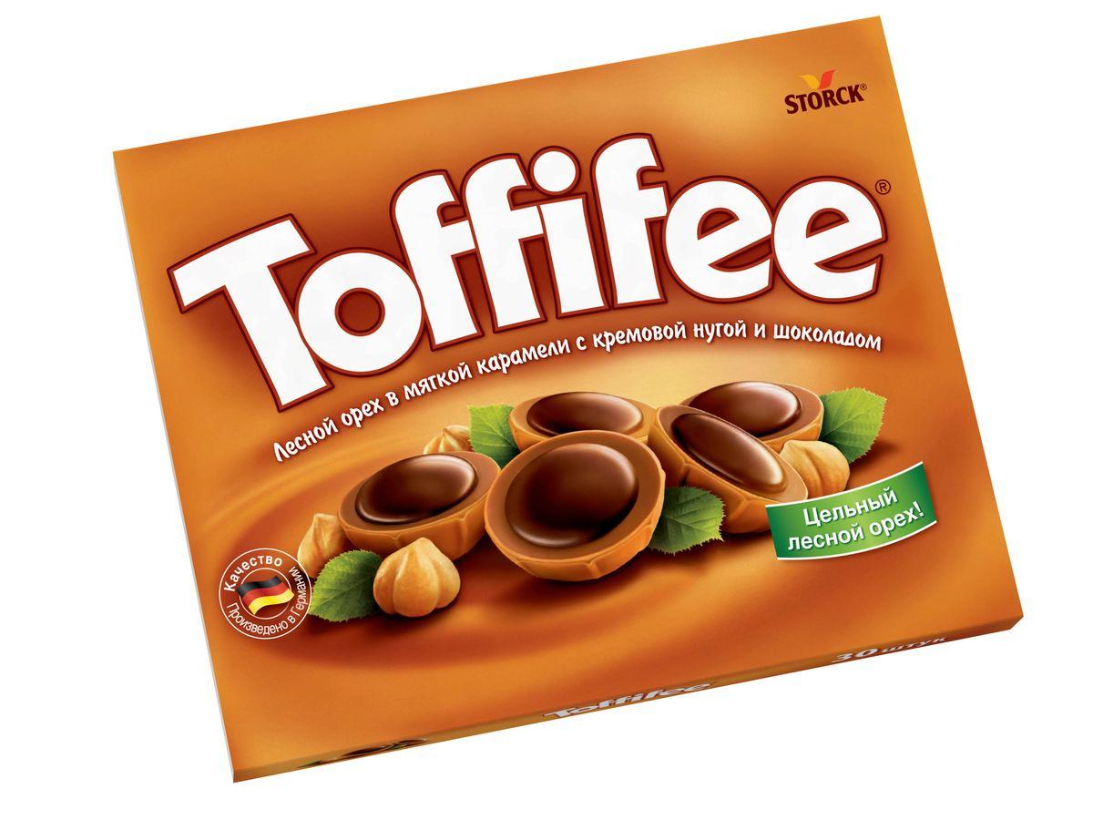 Toffife Конфеты орешки в карамели, 125 г