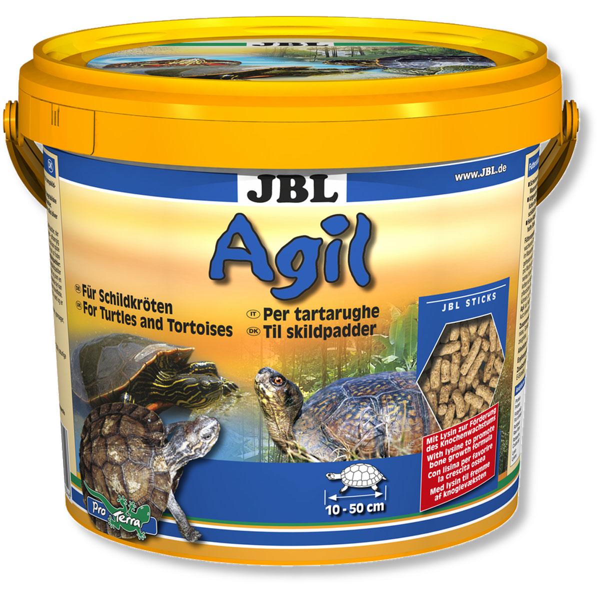 JBL Agil Питательный корм в форме палочек для черепах, 2,5 л (1000 г)JBL7034400JBL Agil - Питательный корм в форме палочек для черепах, 2,5 л. (1000 г.)