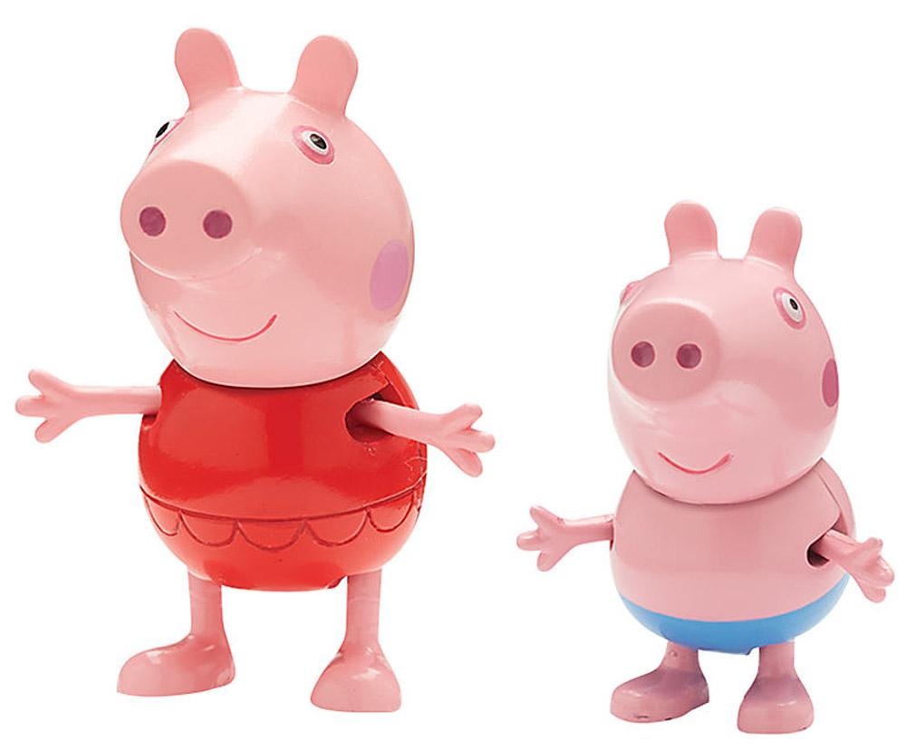 Peppa Pig Набор фигурок Пеппа на каникулах 2 шт30627_Пеппа и ДжорджНабор фигурок Peppa Pig Пеппа на каникулах станет замечательным подарком для каждого поклонника мультфильма Свинка Пеппа. В наборе фигурка Пеппы и фигурка Джорджа. С такими фигурками малыш сможет увлеченно играть и дома, и на улице, и даже в ванне. Яркая окраска фигурок улучшает цветовосприятие ребенка, а приятная на ощупь поверхность развивает тактильные ощущения. Порадуйте свое драгоценное чадо столь интересным и развлекательным подарком.