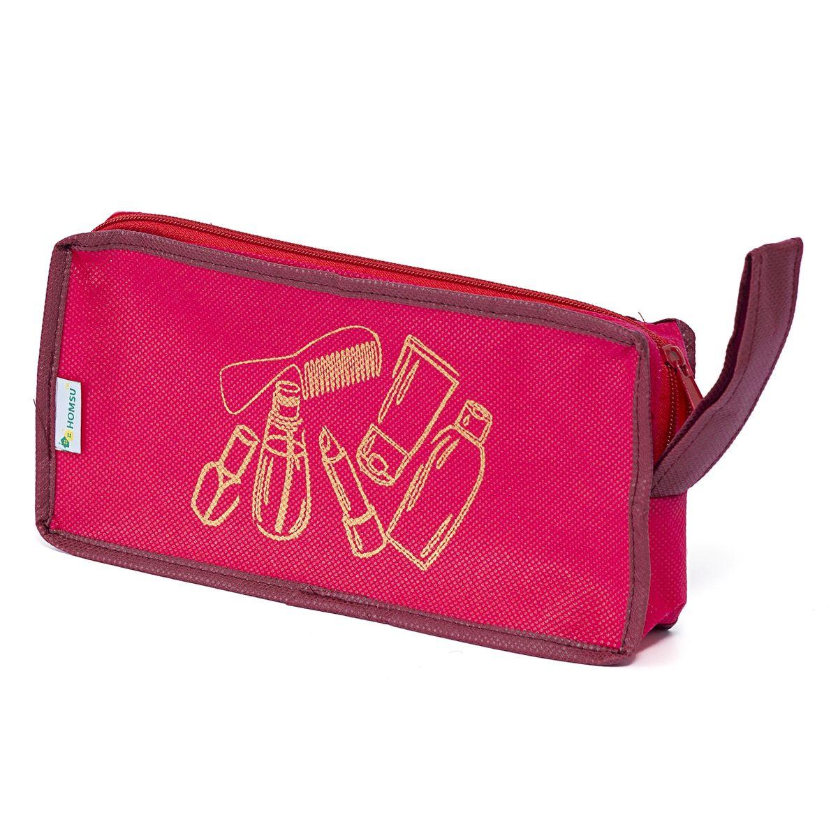 Косметичка Homsu Lady in Red, 25 х 12 х 5 смHOM-657Эта модель косметички не только предоставит много удобства и практичности во время путешествия, но и сможет подчеркнуть своим внешним обликом, индивидуальный стиль своего обладателя. Размер изделия:25x12x5см.