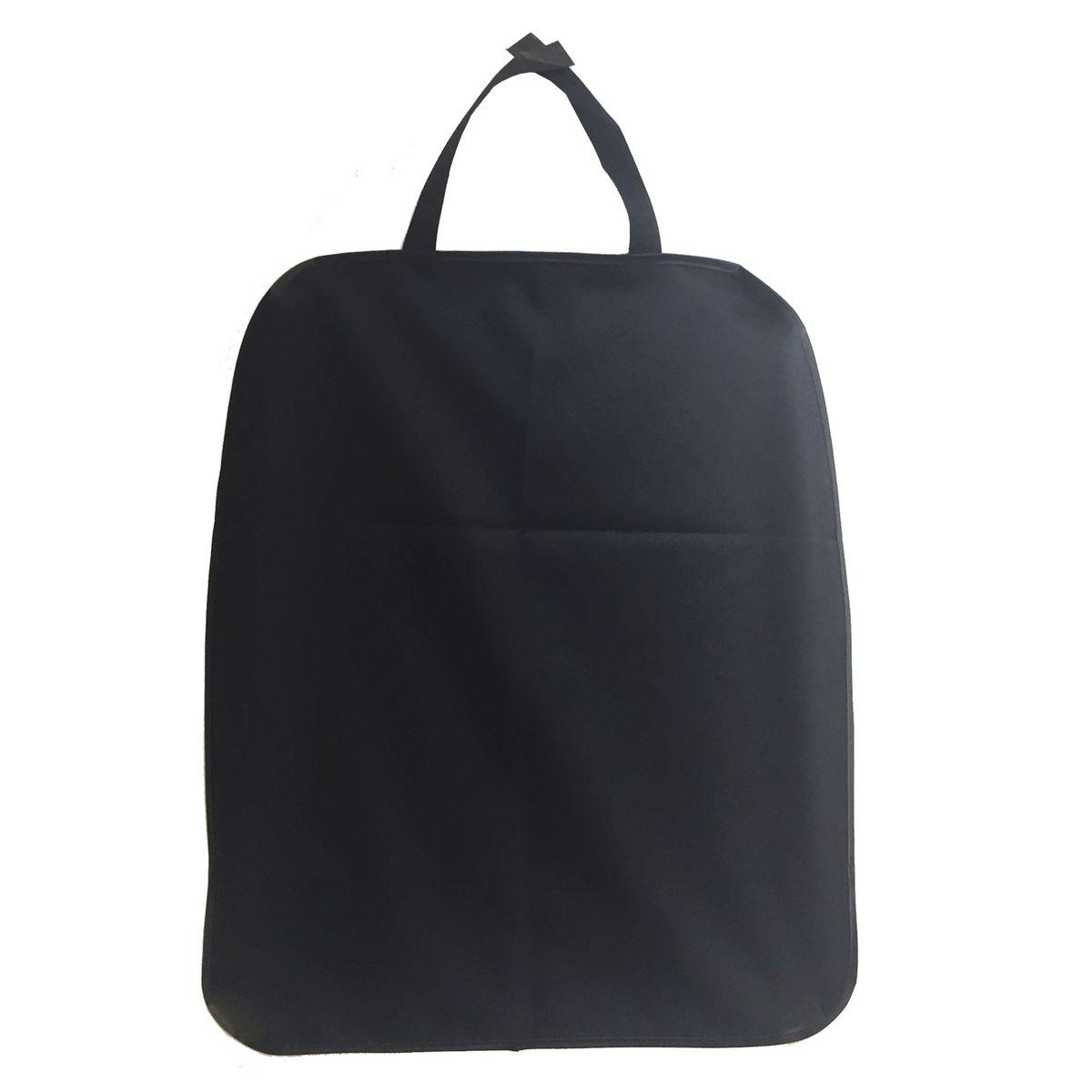 Накидка защитная Homsu, на спинку переднего сидения, цвет: черный, 44 x 50 смHOM-688Накидка HOMSU предназначена для защиты от грязи и повреждений спинки переднего сиденья. Сшита накидка из прочного черного материала, она легко снимается и одевается на кресло, по мере необходимости ее можно стирать. Накидка HOMSU на спинку сидения защитит от загрязнений во время перевозки в автомобиле маленьких детей, так как сидя в детском кресле, они зачастую ногами упираются в спинку переднего сидения. В том числе накидка пригодится владельцам домашних животных. Размер изделия:44x50x1см