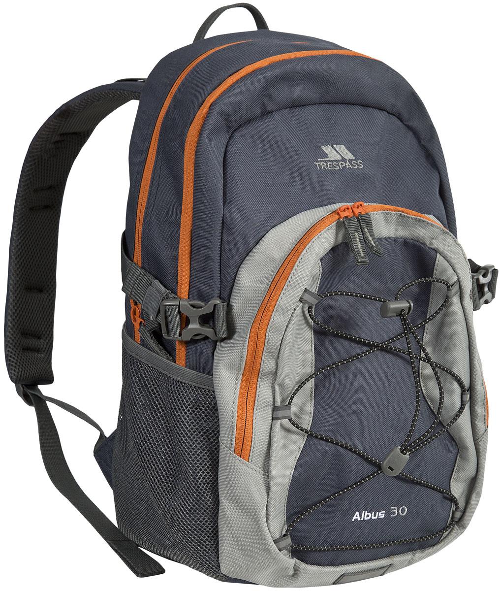 Рюкзак городской Trespass Albus, цвет: серый, 30 лUUACBAC10004