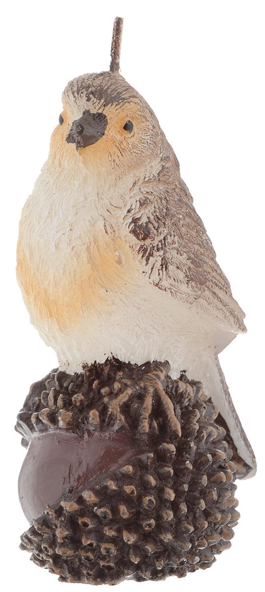 Свеча Winter Wings Воробей, высота 11 смN161801Свеча Winter Wings Воробей, изготовленная из парафина, станет прекрасным украшением интерьера помещения в преддверии Нового года. Такая свеча создаст атмосферу таинственности и загадочности и наполнит ваш дом волшебством и ощущением праздника. Хороший сувенир для друзей и близких.