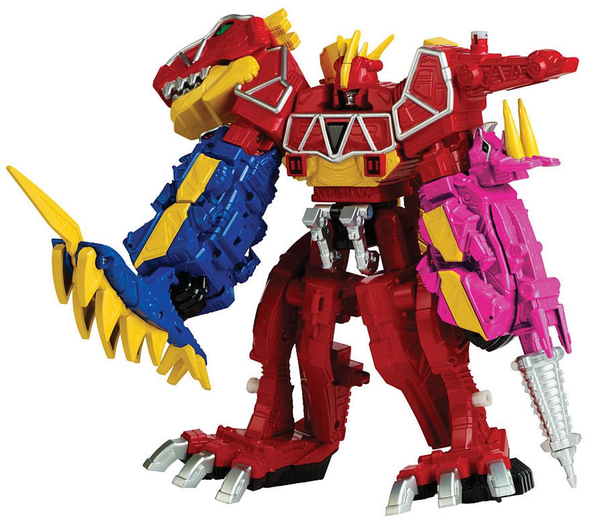 Power Rangers Трансформер Мегазорд цвет красный синий фуксия43095_43096_красный, синий, фуксияПотрясающий трансформер Power Rangers Мегазорд, который по достоинству оценят юные поклонники популярнейшего телесериала для детей Могучие рейнджеры: Дино Заряд. Большой боевой робот Мегазорд разбирается на три Дино Зорда - динозавроподобных роботов. Вы можете атаковать противника как отдельными полностью самостоятельными модулями, так и в собранном виде, чтобы утроить силу вашего Дино Мегазорда! Создавайте собственные баталии, сокрушайте врагов с помощью невероятно мощного и непобедимого диноробота! В комплект набора входит Дино заряд, активирующий еще больше игровых возможностей. Как и все игрушки серии Zord Builder, составные части Мегазорда совместимы с другими игрушками этой коллекции. Собрав несколько наборов, вы можете создавать оригинальных и еще более мощных роботов.