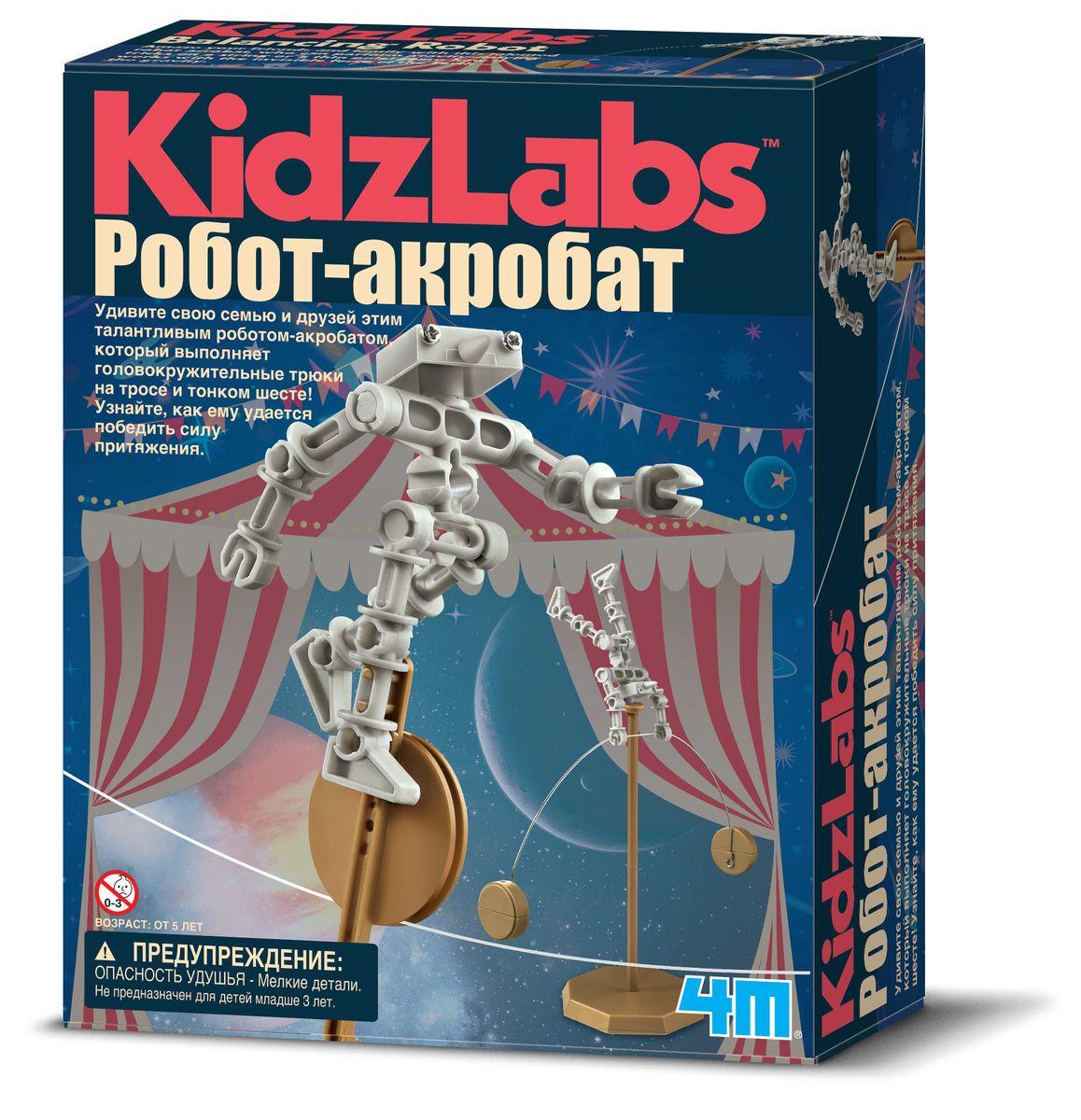 4M Набор для опытов Робот акробат