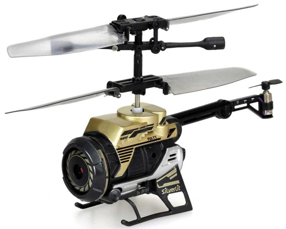 Silverlit Вертолет на радиоуправлении Spy Cam Nano