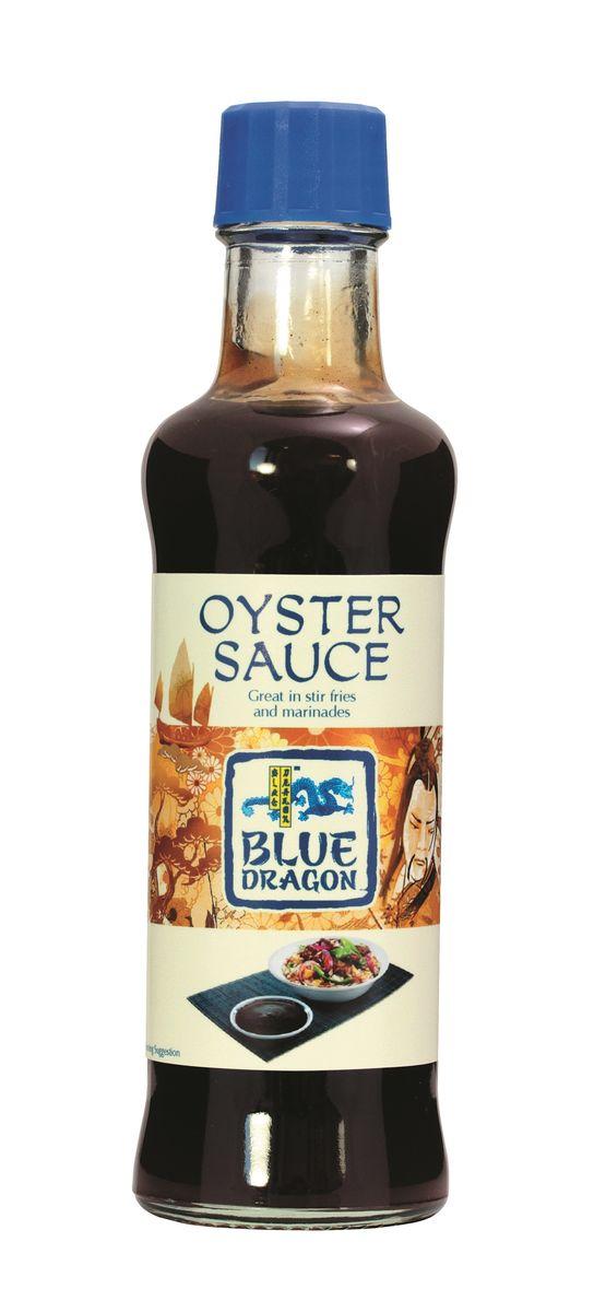 Blue Dragon Соус устричный, 150 мл020765Имеет темно коричневый цвет, специфический запах и чуть сладковато-соленый вкус. Консистенция достаточно густая и вязкая. Является универсальной приправой для мясных блюд. Придает особый аромат и вкус рыбным и овощным блюдам. Подается к классическому вареному цыпленку или жареной свинине.
