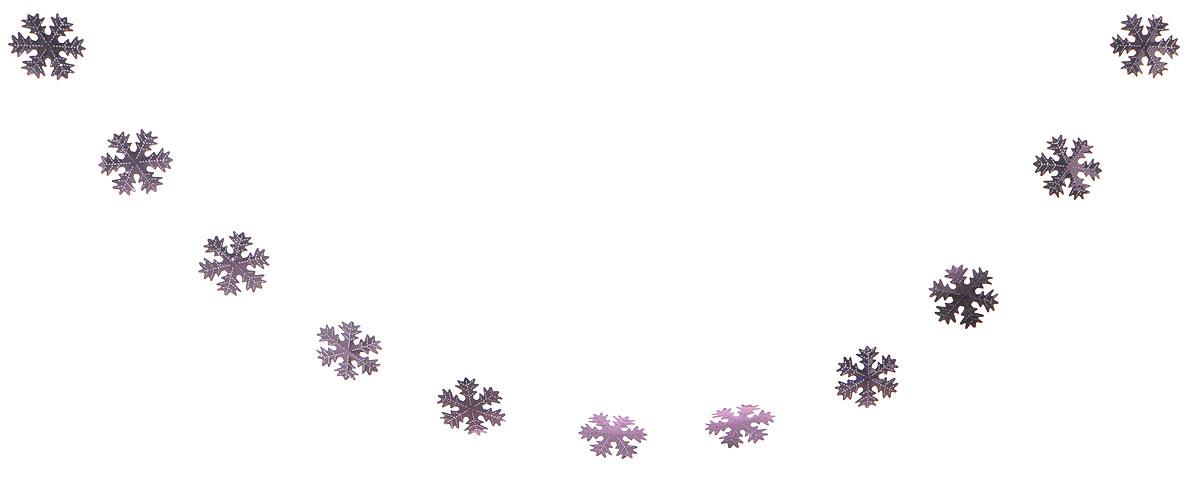 Гирлянда декоративная Winter Wings Снежинки, цвет: сиреневый, 10 см х 2,7 мN09164_сиреневыйНовогодняя декоративная растяжка Winter Wings Снежинки прекрасно подойдет для декора дома и праздничной елки. Украшение выполнено из ПВХ. Новогодние украшения несут в себе волшебство и красоту праздника. Они помогут вам украсить дом к предстоящим праздникам и оживить интерьер по вашему вкусу. Создайте в доме атмосферу тепла, веселья и радости, украшая его всей семьей.