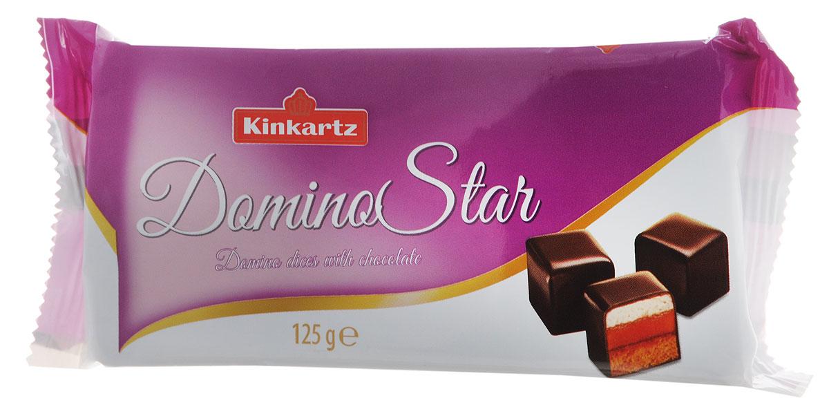 Kinkartz Domino Star пряники в шоколаде с начинкой из марципана и мармелада, 125 г40411.146Kinkartz Domino Star - великолепные пряники в шоколаде с начинкой из марципана и мармелада. Компания Kinkartz принадлежит к числу крупных и успешных производителей кондитерских изделий и как поставщик традиционных аахенских пряников, что чрезвычайно ценится потребителями. Уважаемые клиенты! Обращаем ваше внимание на то, что упаковка может иметь несколько видов дизайна. Поставка осуществляется в зависимости от наличия на складе.