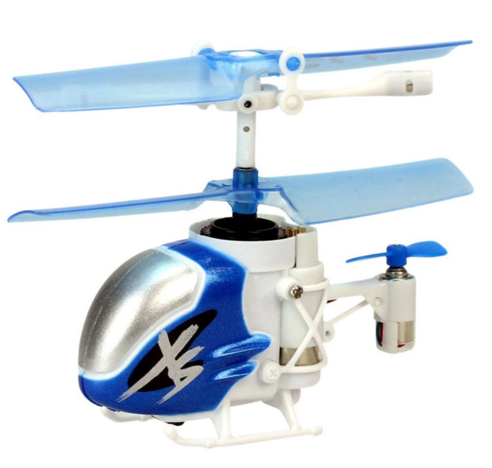 Silverlit Вертолет на инфракрасном управлении Nano Falcon XS84702Вертолет на инфракрасном управлении Silverlit Nano Falcon XS привлечет внимание не только ребенка, но и взрослого, и станет отличным подарком любителю воздушной техники. Это самый маленький 3-канальный вертолет с гироскопом в мире, который занесен в Книгу рекордов Гиннесса! Вертолет имеет трехканальное дистанционное управление. Возможные движения: вверх, вниз, вправо, влево. Сверхточное цифровое управление позволяет совершать самые невероятные маневры. Встроенный гироскоп гарантирует стабилизацию полета в любых условиях. В комплекте: вертолет, пульт управления, два запасных хвостовых винта, приспособление для замены хвостового винта, футляр для переноски, инструкция по эксплуатации на русском языке. Вертолет работает от встроенного аккумулятора. Заряжается аккумулятор от пульта управления. Время зарядки: 20-30 минут. Время работы игрушки с полностью заряженным аккумулятором: 3 минуты. Для работы пульта управления необходимы 4 батарейки типа АА напряжением...