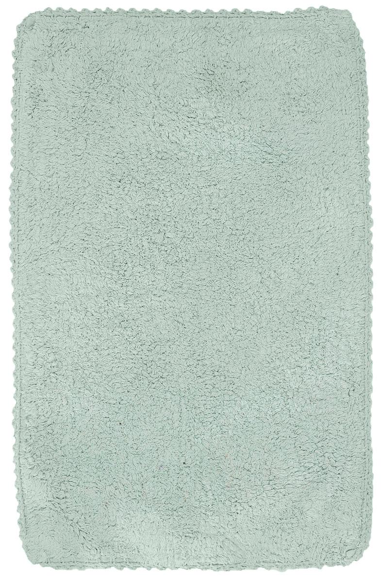 Коврик для ванной Modalin Hacri, цвет: ментол, 50 х 80 см5031/CHAR004Коврик для ванной Modalin Hacri выполнен из высококачественного хлопка. Изделие долго прослужит в вашем доме, добавляя тепло и уют, а также внесет неповторимый колорит в интерьер ванной комнаты. Кромка выполнена под кружево.