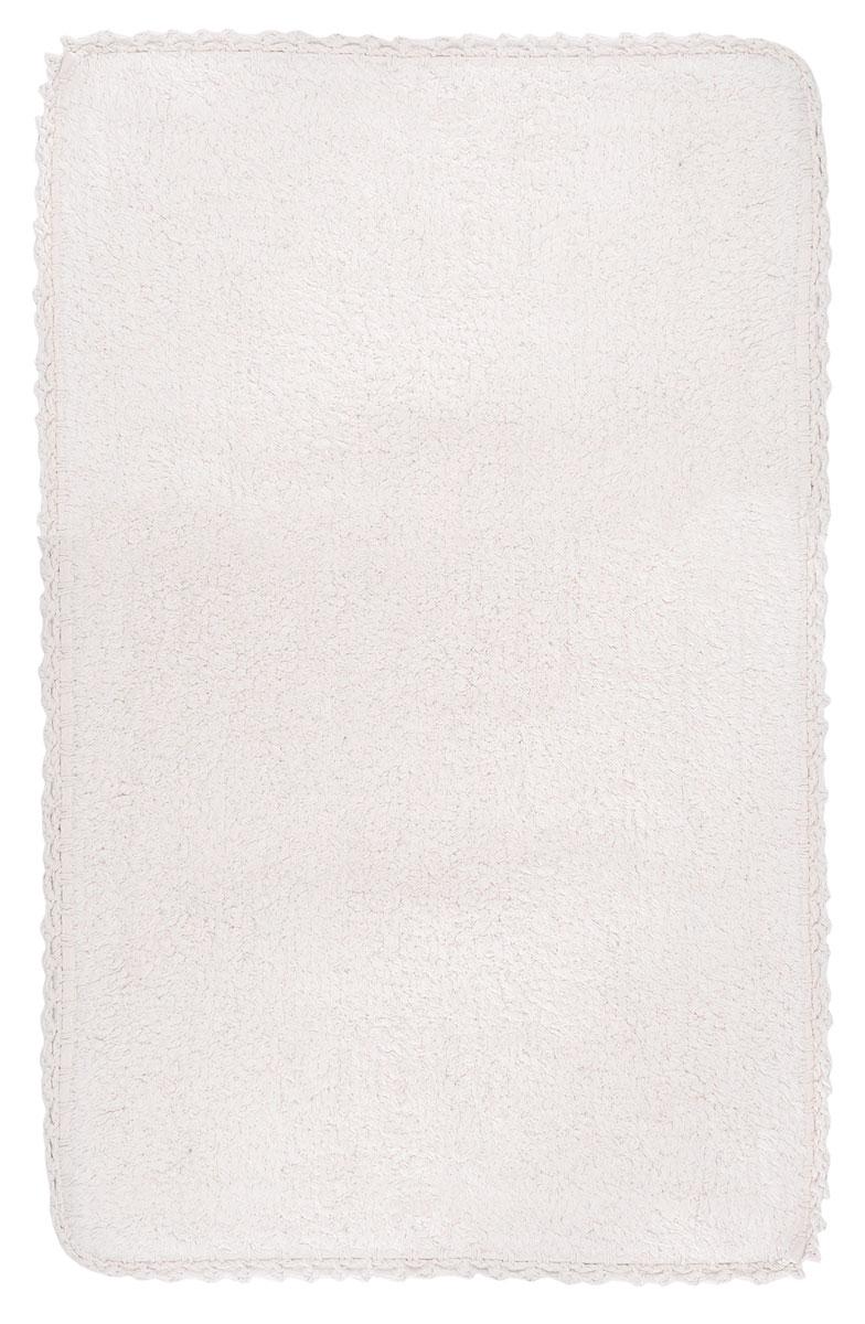 Коврик для ванной Modalin Hacri, цвет: бежевый, 50 х 80 см5031/CHAR001Коврик для ванной Modalin Hacri выполнен из высококачественного хлопка. Изделие долго прослужит в вашем доме, добавляя тепло и уют, а также внесет неповторимый колорит в интерьер ванной комнаты. Кромка выполнена под кружево.