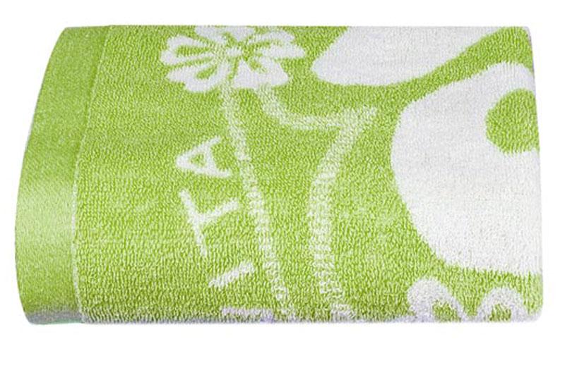 Полотенце Soavita Цветы, цвет: светло-зеленый, белый, 68 х 135 см87503Банное полотенце Soavita Цветы выполнено из 100% хлопка с мягким ворсом и оформлено цветочным принтом. Изделие отлично впитывает влагу, быстро сохнет, сохраняет яркость цвета и не теряет форму даже после многократных стирок. Полотенце очень практично и неприхотливо в уходе. Оно создаст прекрасное настроение и украсит интерьер в ванной комнате. Перед использованием постирать при температуре не выше +40°С.