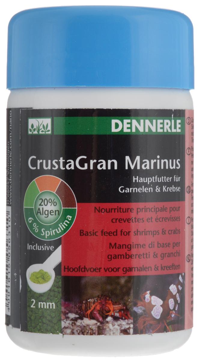 Корм для морских креветок и раков Dennerle CrustaGran Marinus, с мерной ложкой, 100 млDEN5631Dennerle CrustaGran Marinus основной корм для морских креветок и раков. Специальные тонущие гранулы корма для биологически сбалансированного кормления не растворяются и не мутят воду. Корм с высоким содержанием компонентов из морских животных плюс жизненно важные морские водоросли. Dennerle CrustaGran Marinus идеально подходит для раков- отшельников, раков, креветок. Товар сертифицирован.