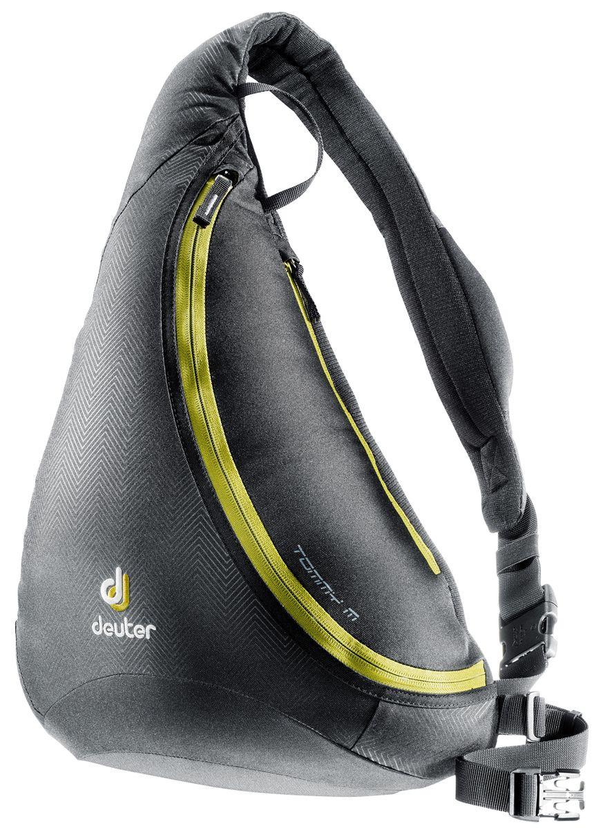 Рюкзак городской Deuter Tommy M, цвет: черный, хаки81213_7260Deuter Tommy M - это идеальное сочетание рюкзака и сумки. Особенности: -Материал: Deuter-Ripstop 210, Deuter-Super-Polytex -Объем: 8 Литров -Размеры: 45 x 33 x 20 см -Вес: 440 Гр -Карман на молнии сзади -Наплечный ремень