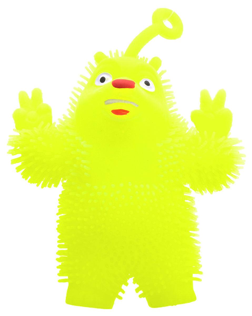 1TOY Игрушка-антистресс Ё-Ёжик Медвежонок-хиппи цвет желтыйТ58186_желтыйМедвежонок-хиппи 1TOY Ё-Ёжик - это яркая игрушка-антистресс - мягкая, приятная на ощупь и напоминающая свернувшегося ежика. Взяв игрушку в руки, расстаться с ней просто невозможно! Ее не только приятно держать в руках, если перекинуть игрушку из руки в руку, она начнет мигать цветными огоньками. Игрушка синего цвета в виде забавного медведя с петлей-тянучкой и короткими мягкими колючками понравится всем без исключения. Данная игрушка рассчитана на широкую целевую аудиторию, как на детей от трех лет, так и взрослых. Ё-Ёжик обязательно станет самым любимым забавным сувениром.