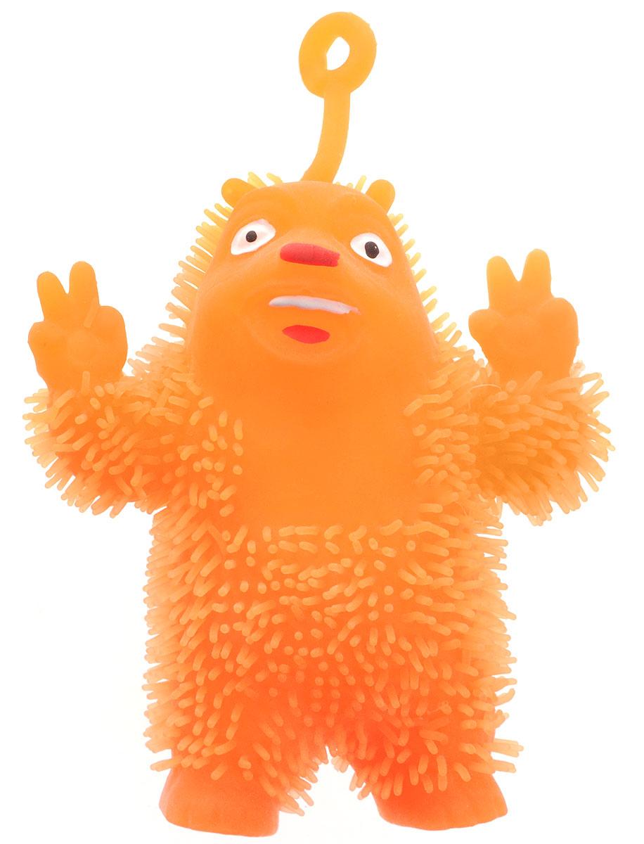 1TOY Игрушка-антистресс Ё-Ёжик Медвежонок-хиппи цвет оранжевыйТ58186_оранжевыйМедвежонок-хиппи 1TOY Ё-Ёжик - это яркая игрушка-антистресс - мягкая, приятная на ощупь и напоминающая свернувшегося ежика. Взяв игрушку в руки, расстаться с ней просто невозможно! Ее не только приятно держать в руках, если перекинуть игрушку из руки в руку, она начнет мигать цветными огоньками. Игрушка синего цвета в виде забавного медведя с петлей-тянучкой и короткими мягкими колючками понравится всем без исключения. Данная игрушка рассчитана на широкую целевую аудиторию, как на детей от трех лет, так и взрослых. Ё-Ёжик обязательно станет самым любимым забавным сувениром.