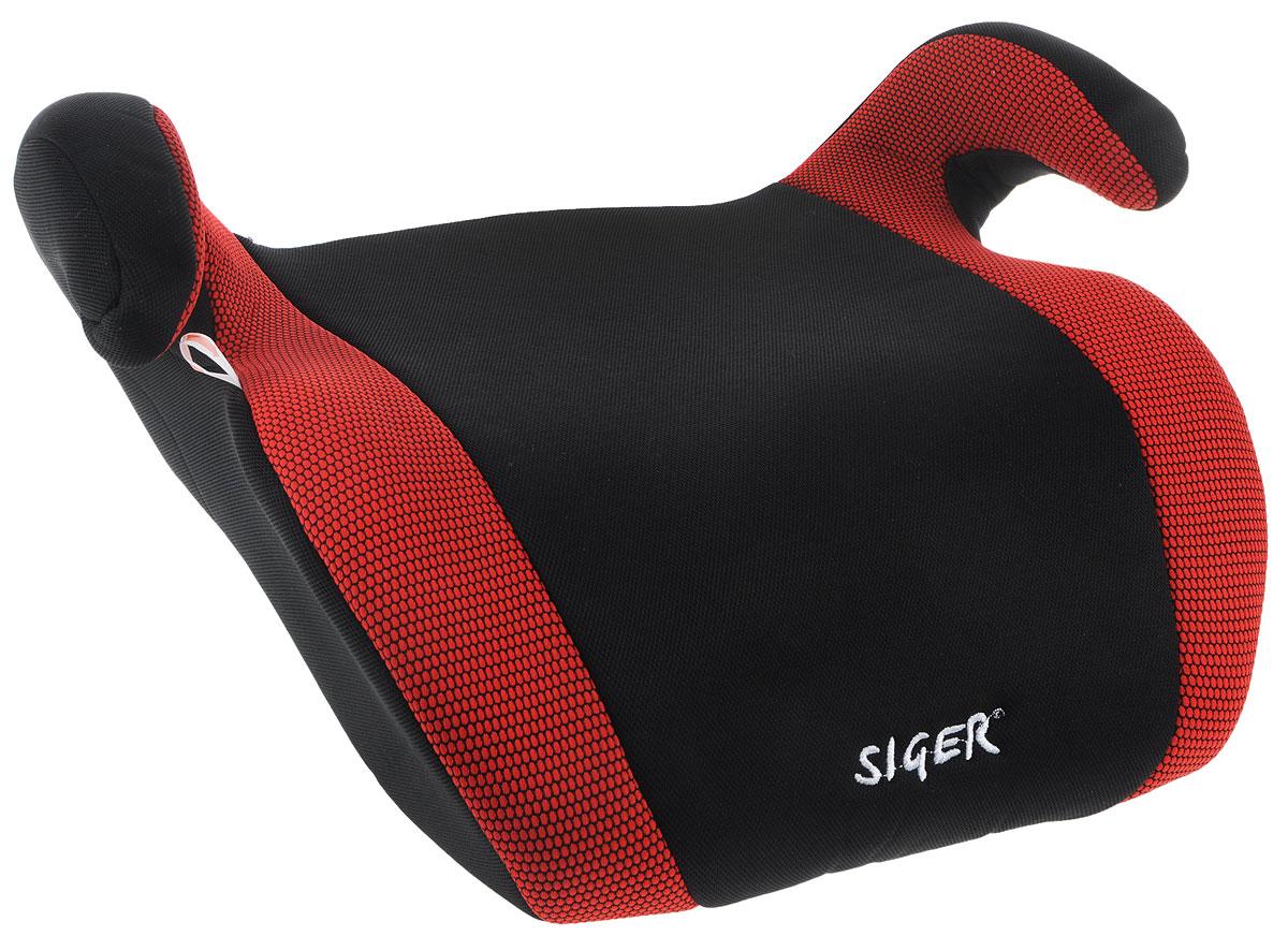 Siger Бустер Мякиш плюс цвет красный черный от 22 до 36 кг