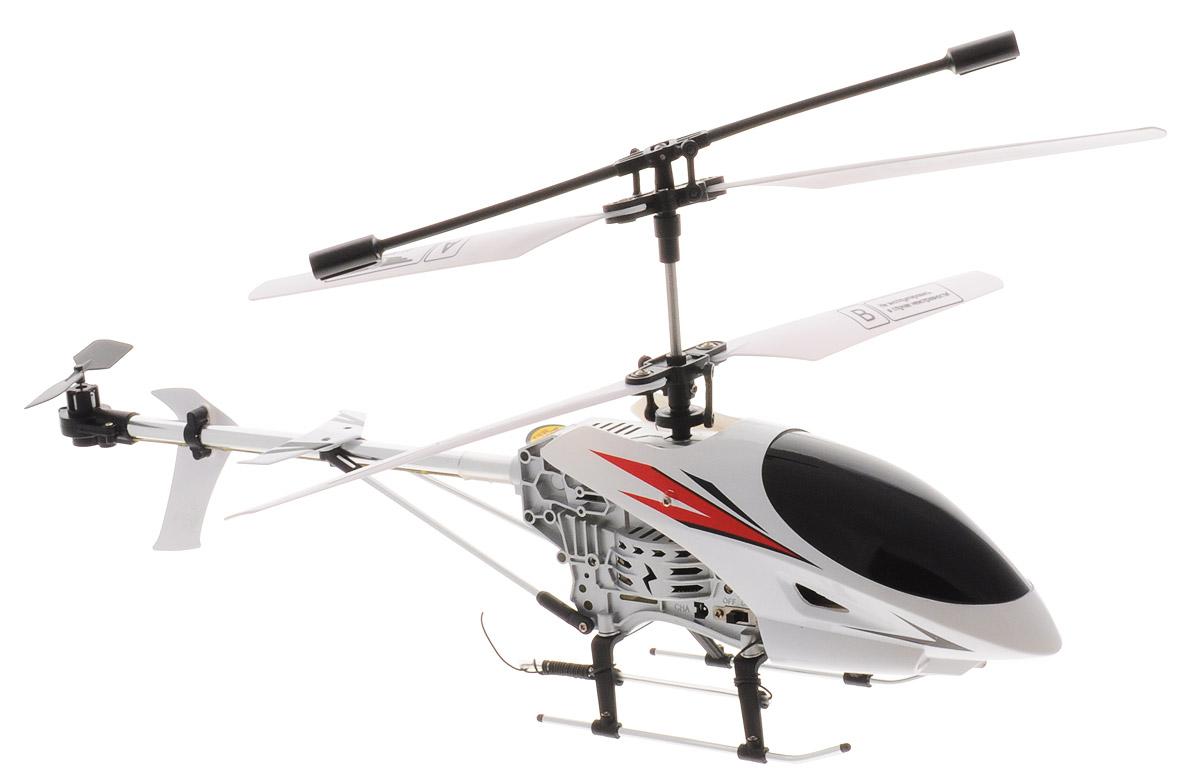 От винта! Вертолет на радиоуправлении Богатырь87236Вертолет на радиоуправлении От винта! Богатырь с ударопрочным корпусом - отличный подарок активным и любознательным мальчишкам! Корпус вертолета способен выдерживать вес до 100 кг. Полеты необходимо осуществлять в солнечный безветренный день. Выбирайте большие открытые пространства. С помощью пульта управления вертолет может совершать подъем, спуск, повороты, летать вперед, назад и совершать поворот на 360 градусов. Время полета составляет 6-8 минут. Вертолет оснащен встроенным гироскопом и световыми эффектами. Радиоуправляемые игрушки развивают у ребенка мелкую моторику, логику, координацию движений и пространственное мышление. Порадуйте своего ребенка таким замечательным подарком! Вертолет работает от встроенного аккумулятора, который при помощи зарядного устройства (входит в комплект). Для работы пульта управления необходимо купить 3 батарейки напряжением 1,5V типа AA (не входят в комплект).