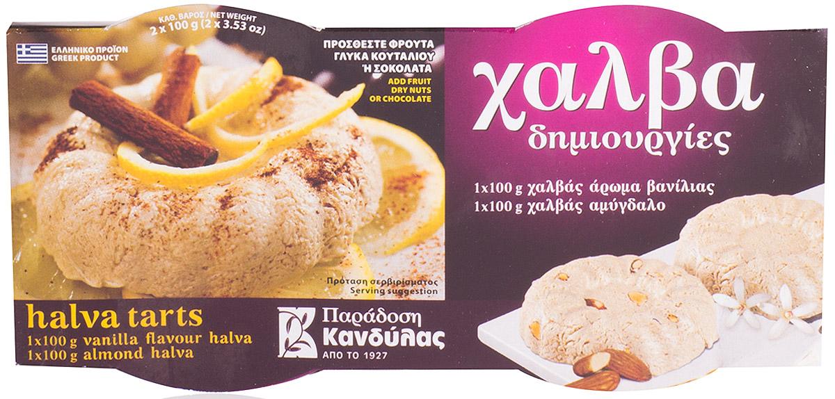 Kandylas халва ваниль-миндаль, 2 шт по 100 г