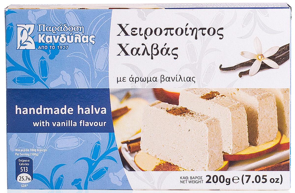 Kandylas халва с ароматом ванили, 200 г
