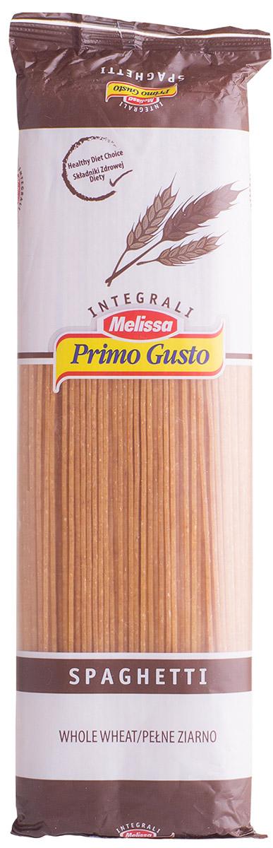Melissa-Primo Gusto спагетти коричневые, 500 г14.0003Макаронные изделия Melissa Primo Gusto производятся исключительно из семолины - муки твердых сортов пшеницы специального (грубого) помола. Семолина используется для приготовления пасты, каши, пудингов и кускуса.