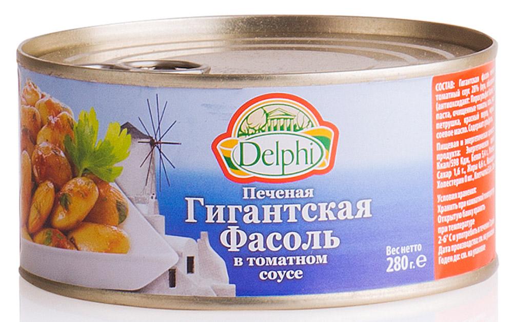 Delphi Фасоль печеная в томатном соусе, 280 г