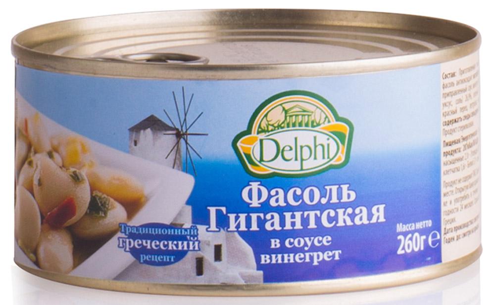 Delphi Фасоль гигантская в соусе винегрет, 260 г42.0026