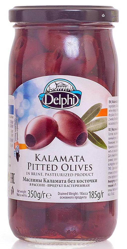 Delphi Маслины без косточек Каламата в рассоле, 350 г51.0037,1