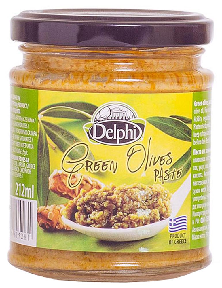 Delphi Паста из зеленых оливок 190 г