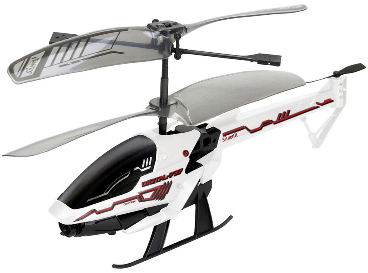 Silverlit Вертолет на инфракрасном управлении Spy Cam 384737Вертолет на инфракрасном управлении Silverlit Spy Cam 3 привлечет внимание не только ребенка, но и взрослого, и станет отличным подарком любителю воздушной техники. Вертолет имеет трехканальное дистанционное управление. Возможные движения: вверх, вниз, вправо, влево. Сверхточное цифровое управление позволяет совершать самые невероятные маневры. Встроенный гироскоп гарантирует стабилизацию полета в любых условиях. Модель вертолета оснащена встроенной камерой с функцией фото и видеосъемки. Разрешение камеры составляет 1280 х 960. Файлы записываются на внутреннюю память. Все фотографии и видеозаписи можно перенести на компьютер с помощью кабеля USB. Вертолет идеально подходит для игры внутри помещения. Каждый полет вертолета будет максимально комфортным и принесет вам яркие впечатления! В комплекте: вертолет, пульт управления, два запасных хвостовых винта, кабель USB, приспособление для замены хвостового пропеллера, инструкция по эксплуатации на русском языке. ...