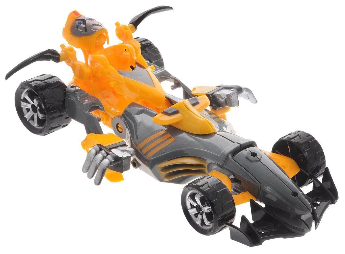 Тилибом Робот-трансформер Стражи галактики цвет черный оранжевыйТ80486_черный, оранжевыйРобот-трансформер Тилибом Стражи галактики порадует вашего ребенка и надолго займет его внимание. Робот выполнен из прочного пластика черного и оранжевого цветов. Конструкция робота имеет подвижные соединения, благодаря чему, ему можно придавать различные позы. Трансформер имеет две вариации: он может быть защитником галактики или чемпионом на гоночной трассе, что позволяет проявить фантазию и придумать множество сюжетно-ролевых игр. Превратить робота в транспортное средство поможет инструкция на упаковке. Порадуйте ребенка таким замечательным подарком!