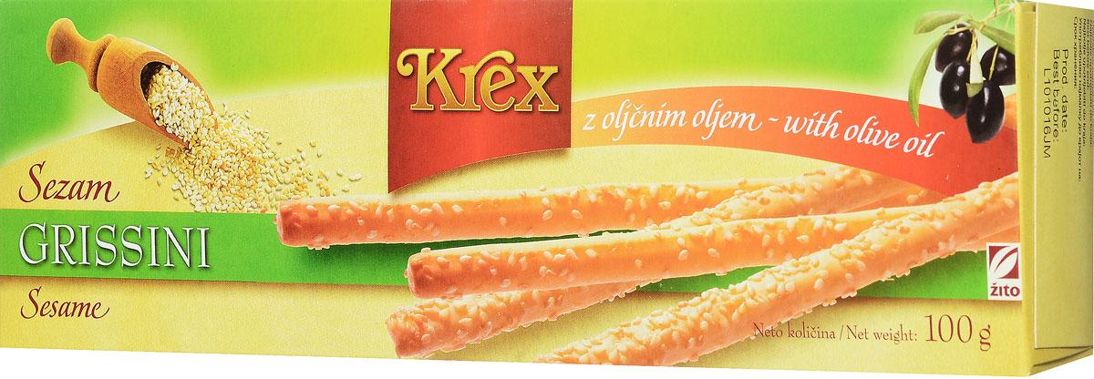 Krex С кунжутом хлебные палочки-гриссини, 100 г3400408Золотисто-желтые хрустящие гриссини, посыпанные кунжутом, который дополнительно поджаривается в процессе выпечки, усиливая аромат и придавая продукту его уникальный вкус. Органические продукты Natura имеют маркировку в соответствии с законодательством и европейскую экологическую маркировку сертифицированных органических продуктов питания, так как при их производстве не используются удобрения и распылители, запрещенные в органическом производстве и обработке. Органические продукты произведены под контролем SI - EKO - 001. Органические продукты Natura производятся в регионах, где природа пока еще живет своей жизнью. Они попадают на полки магазинов и на столы людей, выбирающих здоровое питание, в той же форме, в которой их создала природа: натуральными, питательными и здоровыми. Разнообразные натуральные зерна и семена обладают всеми свойствами злаков, полностью сохраняя, таким образом, свои полезные качества.