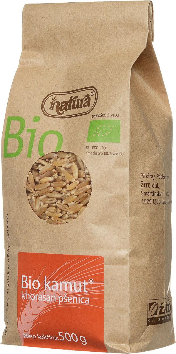Zito Natura Bio Крупа камут органический, 500 г3400005Хорасанская пшеница - это заново открытая древняя злаковая культура, выращиваемая древними египтянами около 4000 лет назад. Может употребляться вместо пшеницы или спельты. Так как она имеет легкий сладкий привкус, то при выпечке не требуется добавление сахара. Употреблять с молоком или фруктами, а также в качестве добавки к тушеным блюдам. Органические продукты Natura имеют маркировку в соответствии с законодательством и европейскую экологическую маркировку сертифицированных органических продуктов питания, так как при их производстве не используются удобрения и распылители, запрещенные в органическом производстве и обработке. Органические продукты произведены под контролем SI - EKO - 001. Органические продукты Natura производятся в регионах, где природа пока еще живет своей жизнью. Они попадают на полки магазинов и на столы людей, выбирающих здоровое питание, в той же форме, в которой их создала природа: натуральными, питательными и здоровыми. Разнообразные натуральные зерна...
