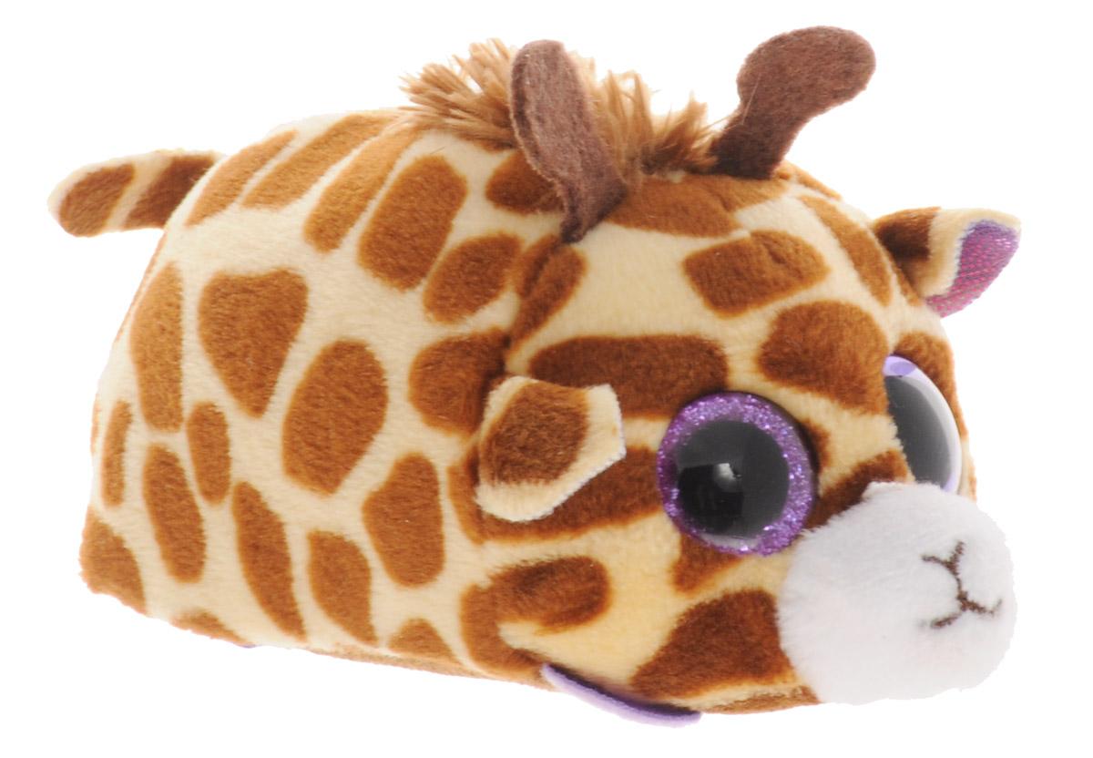 TY Мягкая игрушка Жираф Mabs 10 см42140Замечательная мягкая игрушка TY Жираф Mabs станет самым лучшим другом вашему малышу. Особенность игрушки в том, что она понравится как мальчикам, так и девочкам. Замечательная игрушка с невероятно добрыми искренними глазками никого не оставит равнодушным! Игрушка выполнена из качественных и безопасных материалов в виде очаровательного жирафа. Небольшой размер игрушки позволит ее везде брать с собой. Специальные гранулы, используемые при набивке игрушки, способствуют развитию мелкой моторики рук малыша. Игрушка поможет в развитии тактильных навыков, зрительной координации и мелкой моторики рук.