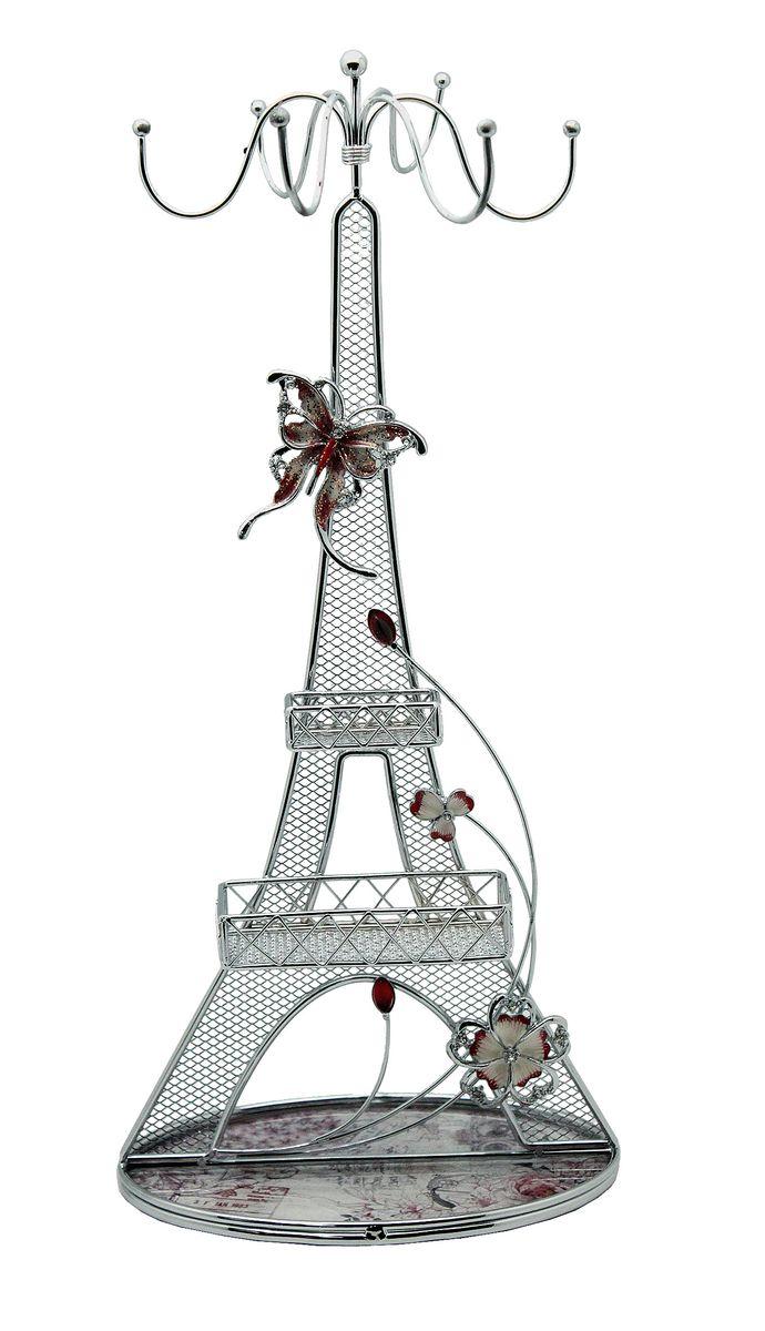 Подставка для украшений Jardin dEte Романтика, 10 х 16 х 36 смHS-24956Fсталь, стекло