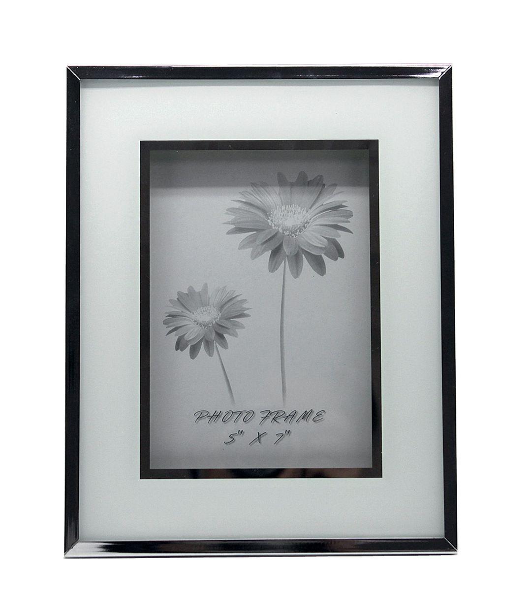 Фоторамка Jardin dEte Инь-Ян, цвет: белый, 20,5 х 25,5 смHS-25773Bcталь, стекло, для фото 13х18 см