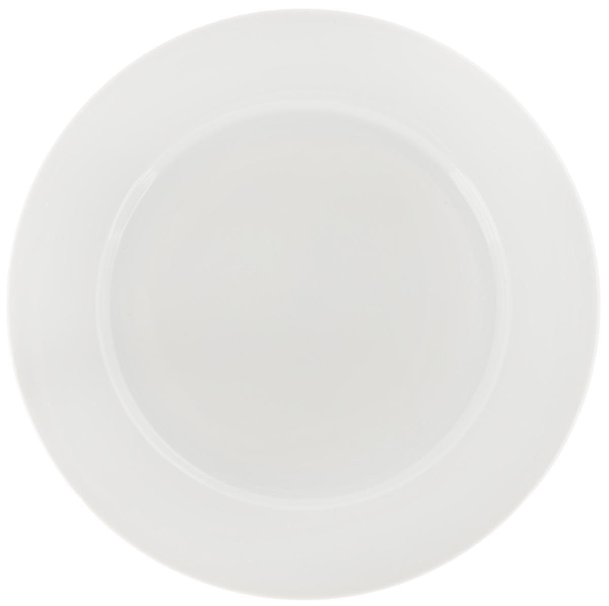 Тарелка Фарфор Вербилок, цвет: белый, диаметр 24 см1658000БТарелка Фарфор Вербилок, изготовленная из высококачественного фарфора, имеет классическую круглую форму. Оригинальный дизайн придется по вкусу и ценителям классики, и тем, кто предпочитает утонченность. Тарелка Фарфор Вербилок идеально подойдет для сервировки стола и станет отличным подарком к любому празднику.